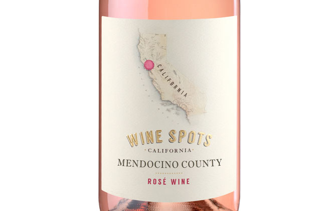Wine Spots Mendocino Country Rose Wine - Bottle Thumbnail