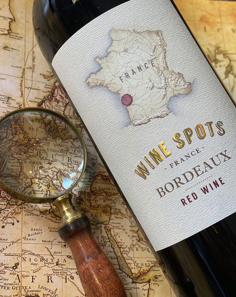 Wine Spots Bordeaux Red Wine Blend