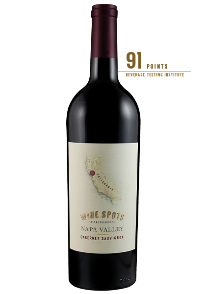 Wine Spots Napa Valley Cabernet Sauvignon Red Wine