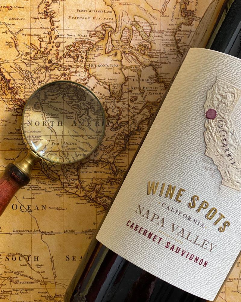 Wine Spots Napa Valley Cabernet Sauvignon