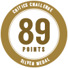 89 points, silver medal
