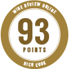 93 points, Rich Cook, Wine Review Online