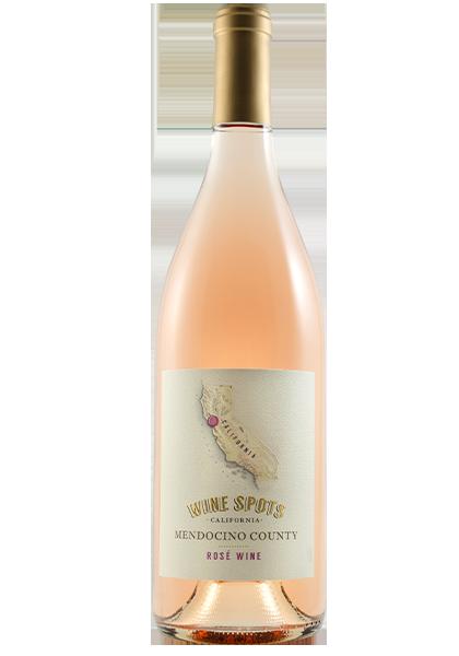 Wine Spots Mendocino County Rosé Wine