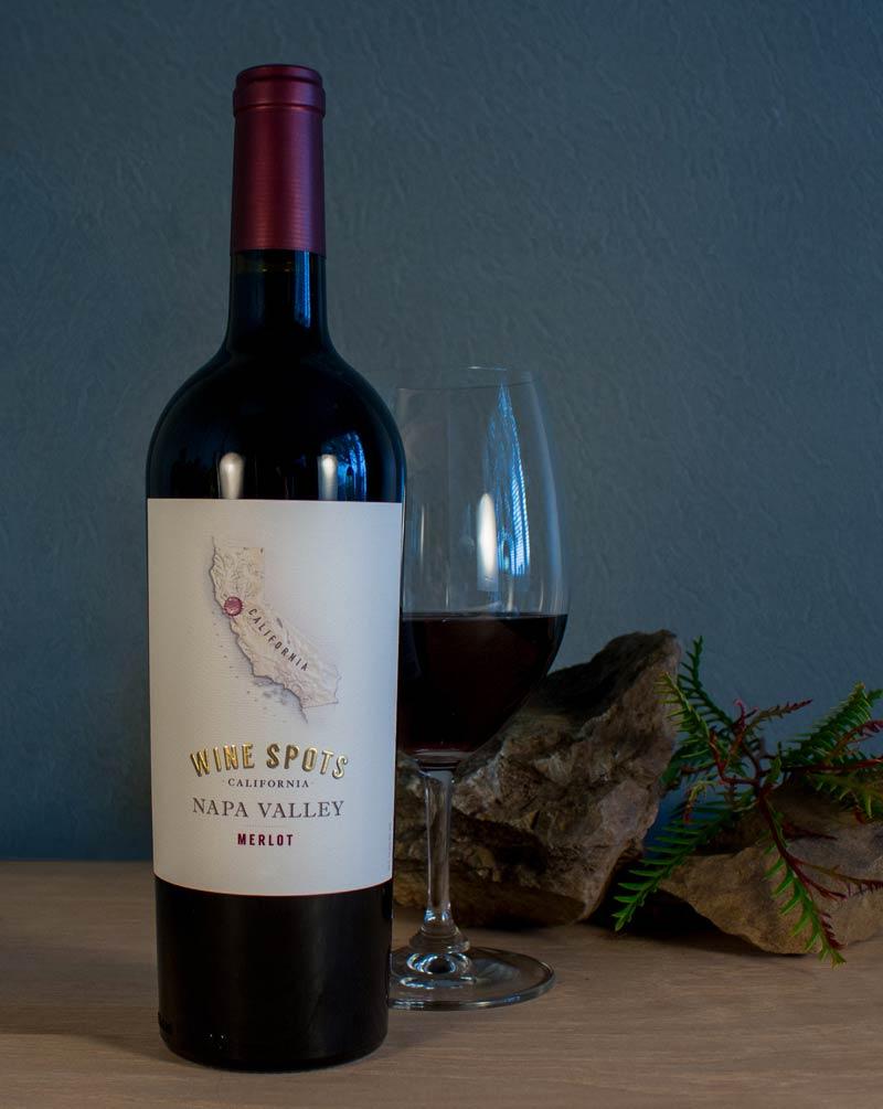 Wine Spots Napa Valley Merlot