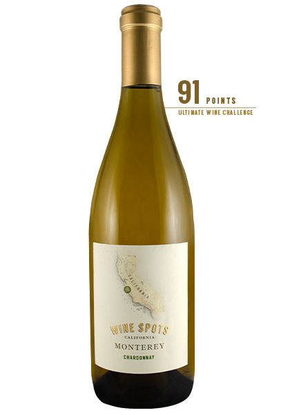 Wine Spots Monterey Chardonnay White Wine