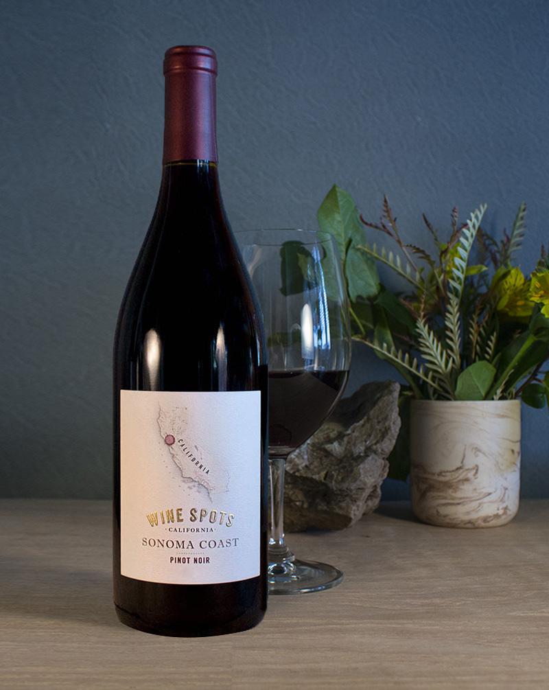 Wine Spots Sonoma Coast Pinot noir